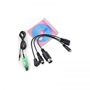 DeliaWinterfel Simulateur De Vol USB Pour Dx5e Dx6i Dx7 Jr Futaba RC Realflight Spektrum Esky FM s [version:x6] by de la marque DeliaWinterfel image 0 produit