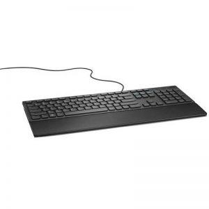 DELL KB216 USB AZERTY Belge Noir - Claviers (Standard, Avec fil, USB, Clavier à membrane, AZERTY, Noir) de la marque Dell image 0 produit