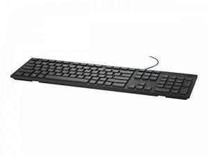 DELL KB216 USB QWERTY US International Noir - Claviers (Standard, Avec fil, USB, QWERTY, Noir) de la marque Dell image 0 produit