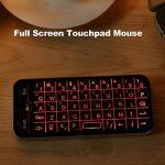 Docooler 2.4G clavier sans fil plein écran souris Touchpad Combo avec rétro-éclairé pour Android Windows Smart TV noir de la marque Docooler image 4 produit