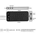 Docooler 2.4G clavier sans fil plein écran souris Touchpad Combo avec rétro-éclairé pour Android Windows Smart TV noir de la marque Docooler image 6 produit