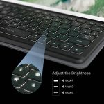 dodocool 10.5 pouces iPad Pro Smart Keyboard avec Smart Connector, Clavier Wireless avec Housse de Protection, Bouton de rétro-éclairage,Sommeil / réveil auto et Porte-stylo Apple Crayon intégré de la marque dodocool image 1 produit