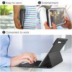 dodocool 10.5 pouces iPad Pro Smart Keyboard avec Smart Connector, Clavier Wireless avec Housse de Protection, Bouton de rétro-éclairage,Sommeil / réveil auto et Porte-stylo Apple Crayon intégré de la marque dodocool image 3 produit