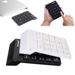 ELEGIANT Pavé Numérique USB Sans fil 19 touches USB Wireless pour MacBook Ordinateur Portable PC Compatible avec le système Windows IOS X blanc de la marque Elegiant image 2 produit