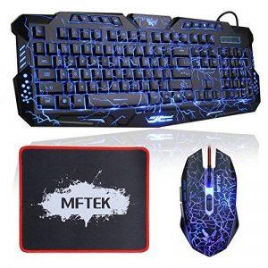 ensemble clavier souris filaire TOP 5 image 0 produit