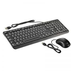 ensemble clavier souris filaire TOP 8 image 0 produit