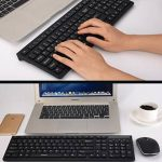 Ensemble de souris sans fil ultra-mince de clavier,ordinateur de bureau/notebook,office/accueil-B de la marque DANODAN image 1 produit