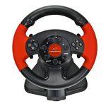 Esperanza Volant de jeux vidéo avec pédales d'accélération/de frein PS2/PS3/PC noir de la marque Esperanza image 1 produit