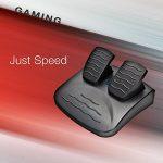 Esperanza Volant de jeux vidéo avec pédales d'accélération/de frein PS2/PS3/PC noir de la marque Esperanza image 5 produit