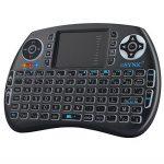 ESYNIC Mini Clavier Rétroéclairé Sans Fil (AZERTY) avec Touchpad pour Xbox 360, Freebox, Box Android TV, PC, Smart TV, Raspberry Pi, PS3,Vidéo-Projecteur de la marque eSynic image 3 produit