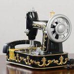 FACAIG Accueil Téléphone de bureau Style machine à coudre antique de personnalité avec boutons poussoir Retro Téléphone Artisanat de la marque FACAIG image 2 produit