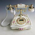 FACAIG Retro Phone,l'identification de l'appelant, Mains libres, avec rétroéclairage intelligent, créatif, à la maison de décor avec boutons-poussoir de la marque FACAIG image 1 produit