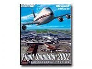 Flight Simulator 2002, édition professionnelle de la marque Microsoft image 0 produit