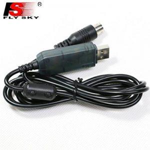 Flysky Fs Câble de Données de Ligne pour Télécharger la Mise à Niveau du Firmware pour Fs-i6 et T6 Convient pour l'émetteur Fs-i6 T6 CT6B T4B i4 de la marque Flysky image 0 produit