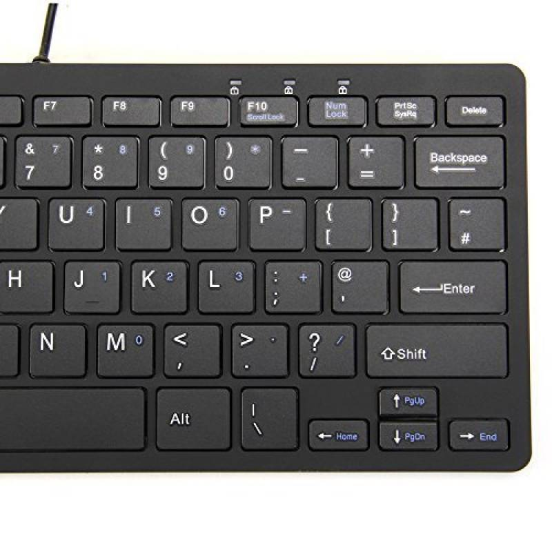 mini clavier filaire top 5 claviers et souris. Black Bedroom Furniture Sets. Home Design Ideas
