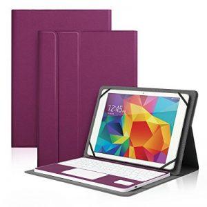 Housse Tablette Universelle pour Tablette 10 pouces et Clavier Bluetooth AZERTY en Cuir, Compatible avec Système Android / Windows Tablette 10'' de tous les marques de la marque Antart image 0 produit