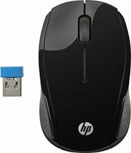 HP 200Souris sans fil Noir de la marque HP image 0 produit