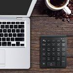 IKOS pavé numérique Bluetooth sans fil à 28 touches pour Windows /Android/ Mac OS/ iOS Device, Such as ordinateur portable, ordinateur de bureau, Surface Pro, Apple, iMac/ Mac , MacBook, Samsung, tablette Android et smartphone de la marque IKOS image 5 produit