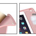 iPad Mini TPU étui, EssVita Ultra Slim Antichoc Doux Etui Intelligent Réveil Automatique / Sommeil Housse de Protection Magnétique Coque Étui pour iPad Mini 1/2/3 Or Rose de la marque EssVita image 4 produit