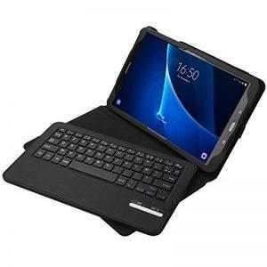Jelly Comb Clavier Bluetooth avec Étui de Protection pour Samsung Tab A 10.1-Noir de la marque Jelly Comb image 0 produit