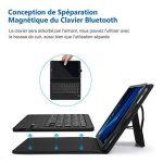Jelly Comb Clavier Bluetooth avec Étui de Protection pour Samsung Tab A 10.1-Noir de la marque Jelly Comb image 3 produit