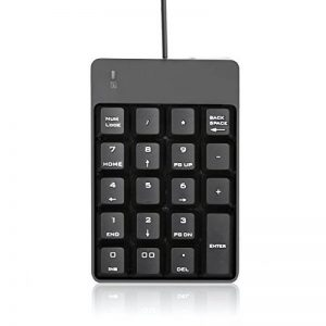 Jelly Comb Clavier Pavé Numérique USB 19 Touches Standard, Noir de la marque Jelly Comb image 0 produit