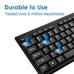 JETech Clavier filaire Wired Keyboard USB Pour Windows 10 / 8 / 7 / Vista / XP Noir QWERTY - 2163 de la marque JETech image 2 produit