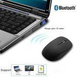 JETech M2260 Souris Bluetooth Sans Fil pour PC, Mac, and Android OS Tablette avec la vie de la batterie de 6 mois - 2260 de la marque JETech image 2 produit