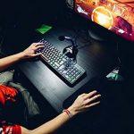 KLIM Chroma Clavier Gamer AZERTY FRANÇAIS Filaire USB - Haute Performance - [ Version 2018 ] Éclairé chromatique Gaming Noir RGB PC Windows, Mac de la marque KLIM image 4 produit