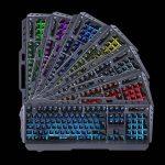 KLIM LIGHTNING - NOUVEAU - Clavier Hybride Semi-Mécanique AZERTY + Choix de 7 couleurs + Garantie 5 ans - Structure en Métal - Clavier gamer gaming jeux vidéos PC Windows, Mac de la marque KLIM image 4 produit