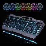 KLIM LIGHTNING - NOUVEAU - Clavier Hybride Semi-Mécanique AZERTY + Choix de 7 couleurs + Garantie 5 ans - Structure en Métal - Clavier gamer gaming jeux vidéos PC Windows, Mac de la marque KLIM image 3 produit