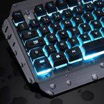 KLIM LIGHTNING - NOUVEAU - Clavier Hybride Semi-Mécanique AZERTY + Choix de 7 couleurs + Garantie 5 ans - Structure en Métal - Clavier gamer gaming jeux vidéos PC Windows, Mac de la marque KLIM image 1 produit