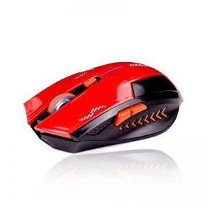 KLIM Souris Gaming Sans Fil Azzor 2400 DPI - Haute Précision - Clic silencieux- Rouge et Noir de la marque KLIM image 0 produit