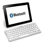 kwmobile Clavier Bluetooth sans fil - Clavier allemand QWERTZ - Keyboard pour par ex. ordinateur PC tablette - Compatible Mac iOS iPad Windows - Blanc de la marque kwmobile image 2 produit