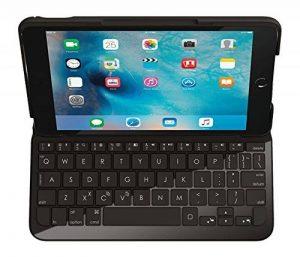 Logi Focus Etui/Clavier pour iPad Mini 4 Noir - Layout Français (AZERTY) de la marque Logitech image 0 produit