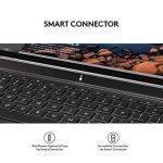 Logitech 5099206062955 iPadPro12.9 Étui Clavier | Create avec Clavier Rétroéclairé sans fil et SmartConnector 1èreGénération (Clavier Française AZERTY, Noir) de la marque Logitech image 2 produit