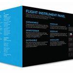Logitech G Saitek Pro Flight Instrument Panel de la marque Logitech image 6 produit