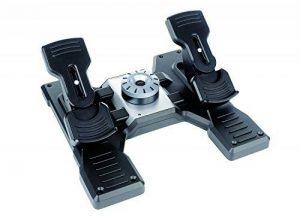 Logitech G Saitek PRO Flight Rudder Pedals de la marque Logitech image 0 produit