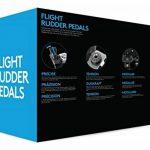 Logitech G Saitek PRO Flight Rudder Pedals de la marque Logitech image 4 produit