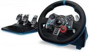 Logitech G29 Volant de course pour PC, PS3 et PS4, en cuir et métal - noir de la marque Logitech image 0 produit