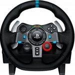 Logitech G29 Volant de course pour PC, PS3 et PS4, en cuir et métal - noir de la marque Logitech image 1 produit