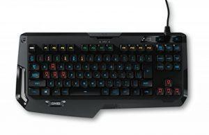 Logitech G410 Atlas Spectrum - Clavier Gaming mécanique sans pavé numérique ultra-léger - Clavier AZERTY de la marque Logitech image 0 produit