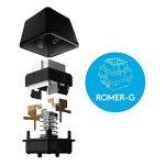 Logitech G413 Clavier gaming mécanique Romer-G avec port USB (Silver) - Azerty Layout de la marque Logitech image 3 produit