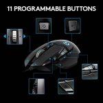 LogitechG502 Souris Gaming RVB PersonnalisableProteusSpectrum avec 11Boutons Programmables de la marque Logitech image 3 produit