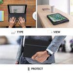 Logitech iPad Slim Folio, étui avec Clavier sans Fil et Bluetooth, Compatible avec iPad 5ème Génération (Clavier Français AZERTY) - Noir de la marque Logitech image 4 produit