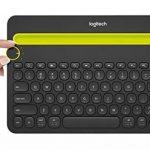 Logitech K480 Clavier BluetoothMulti-Devicesans fil pour PC, Smartphone et Tablette (AZERTY) Noir de la marque Logitech image 4 produit
