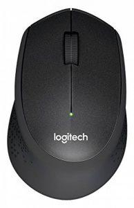 Logitech M330 SILENT PLUS - Souris-sans fil Silencieuse - Capteur Optique avec 90% de Réduction du Bruit - Fonction Auto-sleep - USB pour Windows - Mac - Chrome OS et Linux - Noir de la marque Logitech image 0 produit