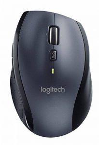 Logitech - Marathon Mouse M705 - souris sans fil USB - laser - Unifiying - argent de la marque Logitech image 0 produit
