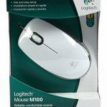 Logitech Mouse M100 Souris filaire Suivi optique Adaptée aux droitiers et aux gauchers Blanc de la marque Logitech image 3 produit