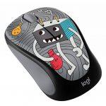 Logitech Souris sans Fil M238 Doodle Collection avec 15 Stickers Premium, Autonomie Batterie de 12 Mois - pour Windows, Mac, Chrome OS et Linux - LIGHTBULB de la marque Logitech image 2 produit